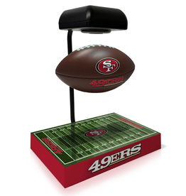 PEGASUS SPORTS San Francisco 49ers Hover Football with Bluetooth Speaker