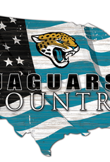 FAN CREATIONS Jacksonville Jaguars Team Flag Country Sign