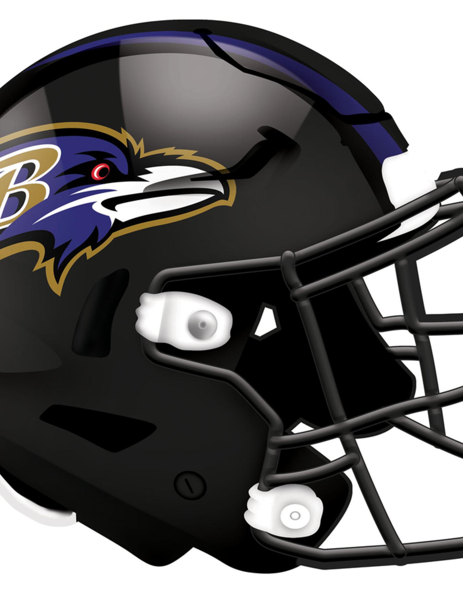 FAN CREATIONS Baltimore Ravens 12in Wood Helmet Sign