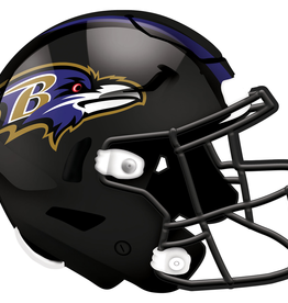 FAN CREATIONS Baltimore Ravens 12in Wood Helmet Sign