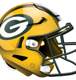 FAN CREATIONS Green Bay Packers 12in Wood Helmet Sign