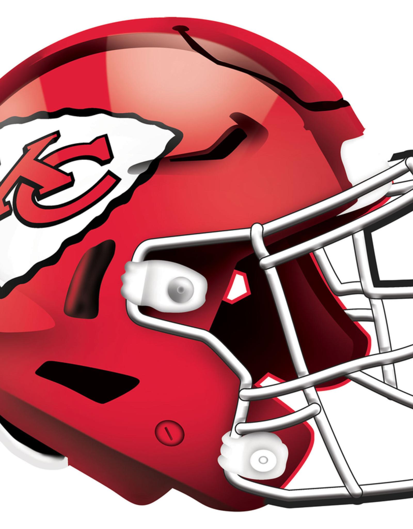 FAN CREATIONS Kansas City Chiefs 12in Wood Helmet Sign