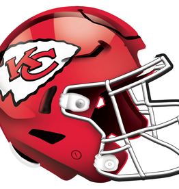FAN CREATIONS Kansas City Chiefs 12in Wood Helmet Sign