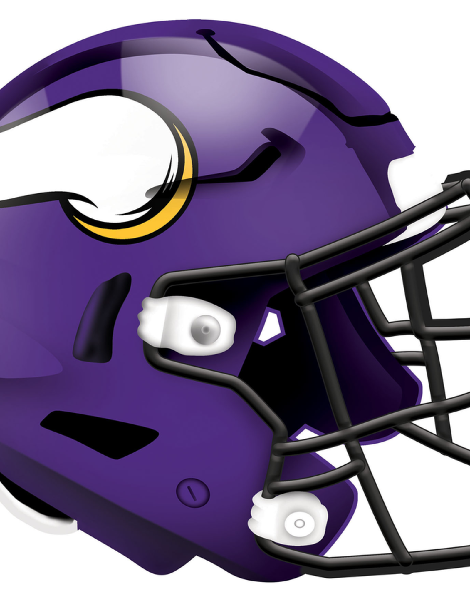 FAN CREATIONS Minnesota Vikings 12in Wood Helmet Sign