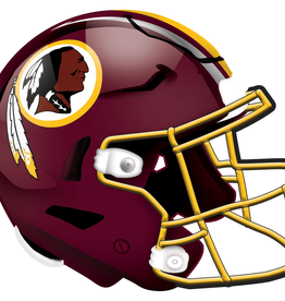 FAN CREATIONS Washington Redskins 12in Wood Helmet Sign