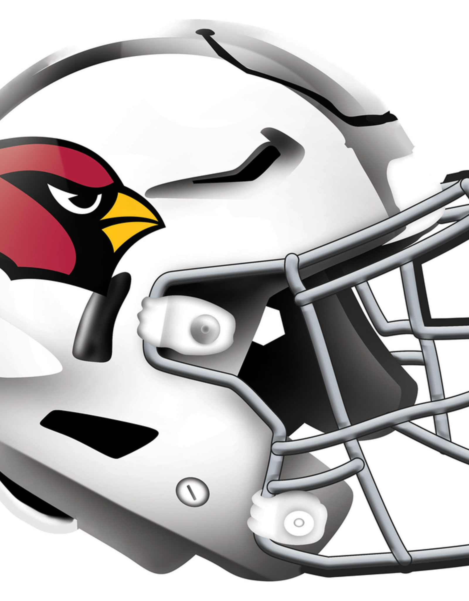 FAN CREATIONS Arizona Cardinals 12in Wood Helmet Sign
