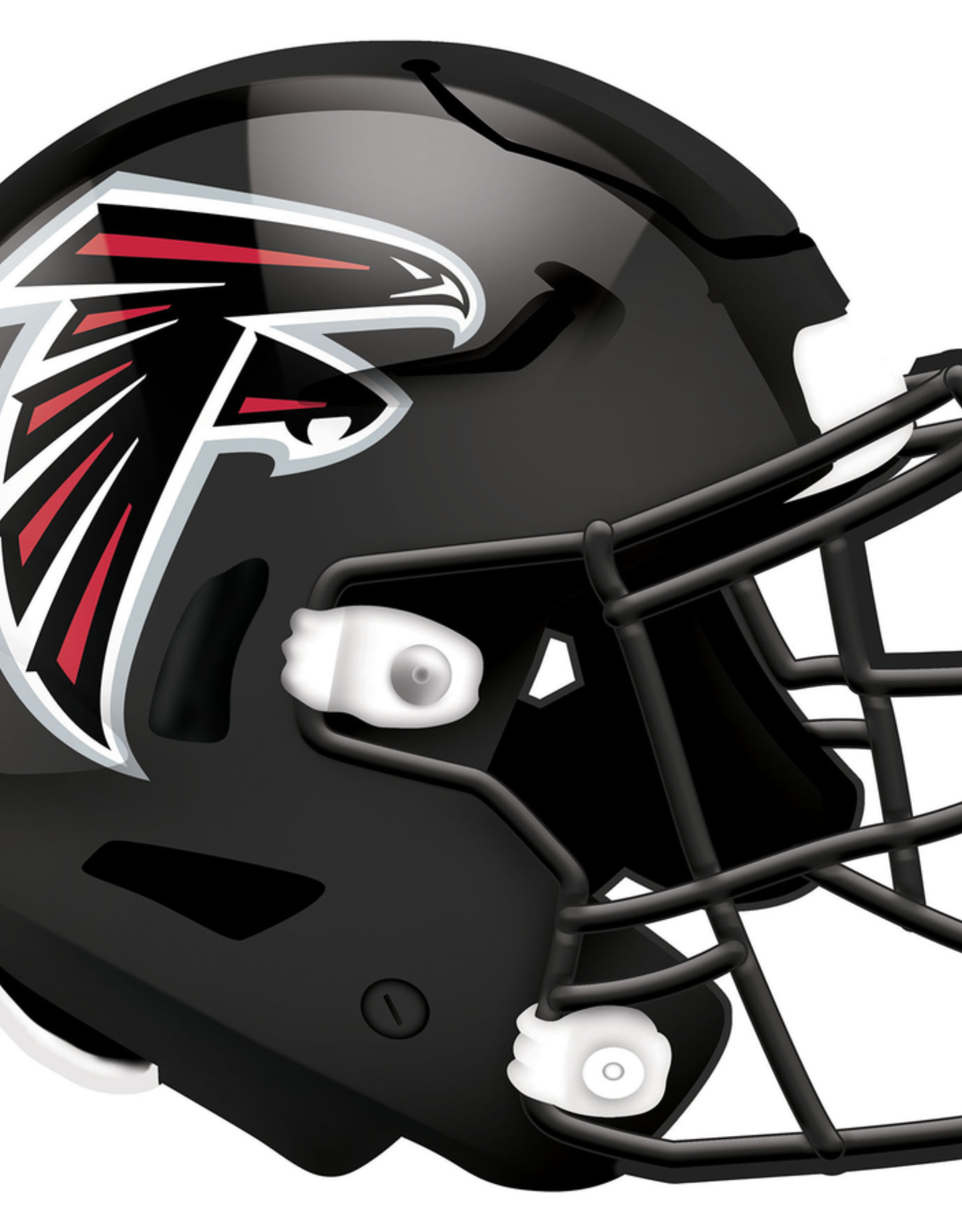 FAN CREATIONS Atlanta Falcons 12in Wood Helmet Sign