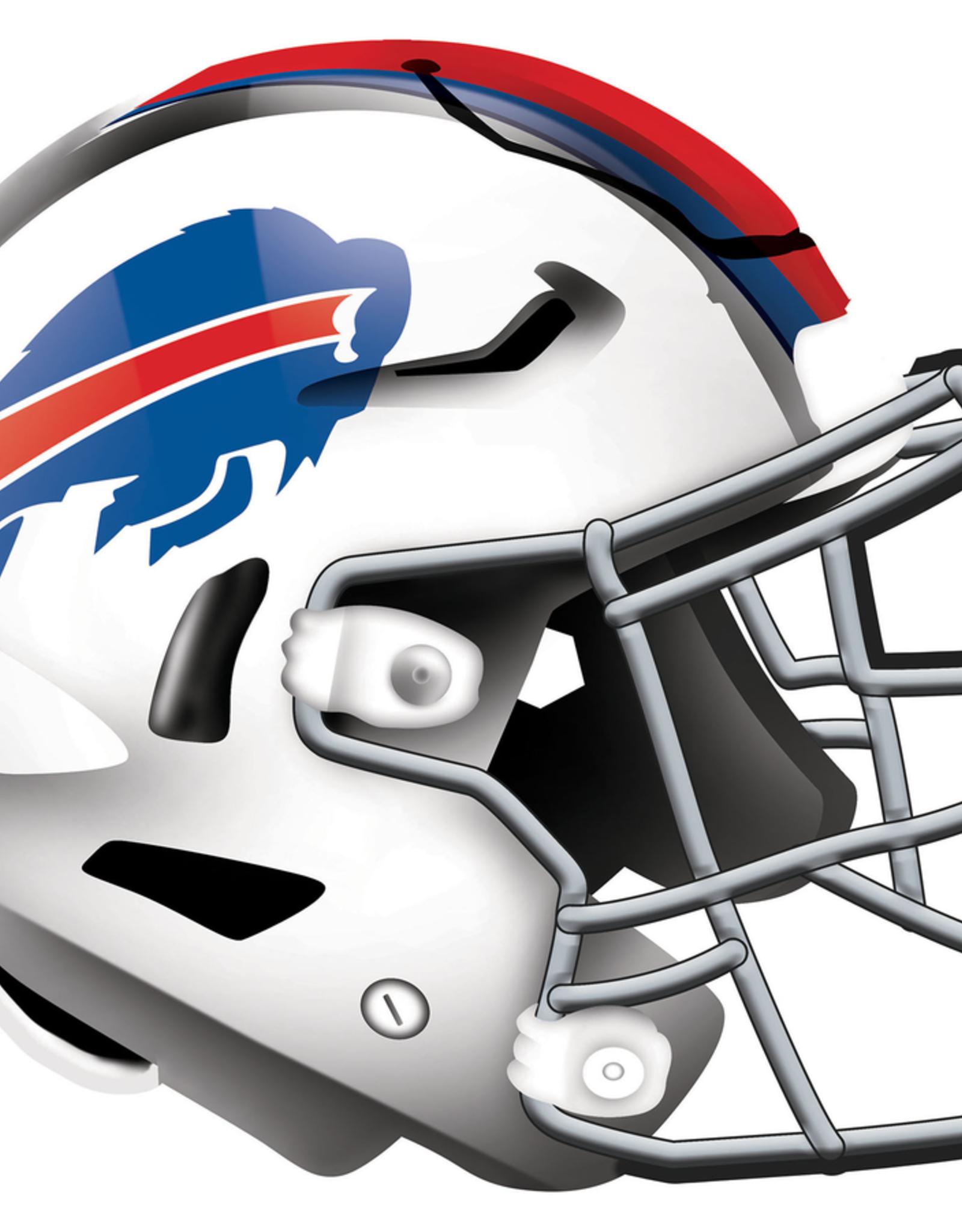 FAN CREATIONS Buffalo Bills 12in Wood Helmet Sign
