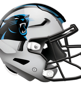FAN CREATIONS Carolina Panthers 12in Wood Helmet Sign