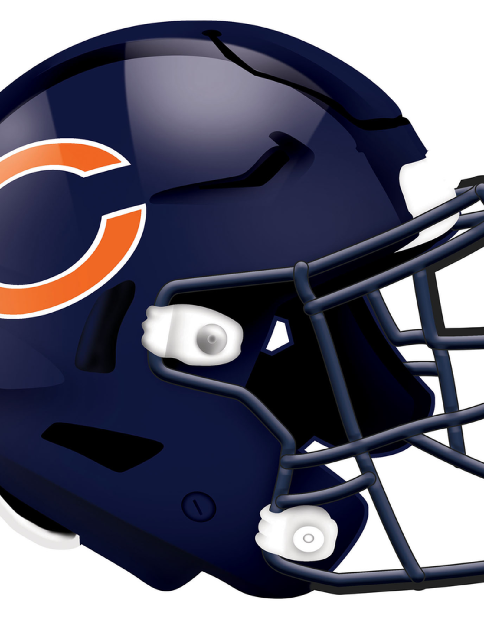 FAN CREATIONS Chicago Bears 12in Wood Helmet Sign