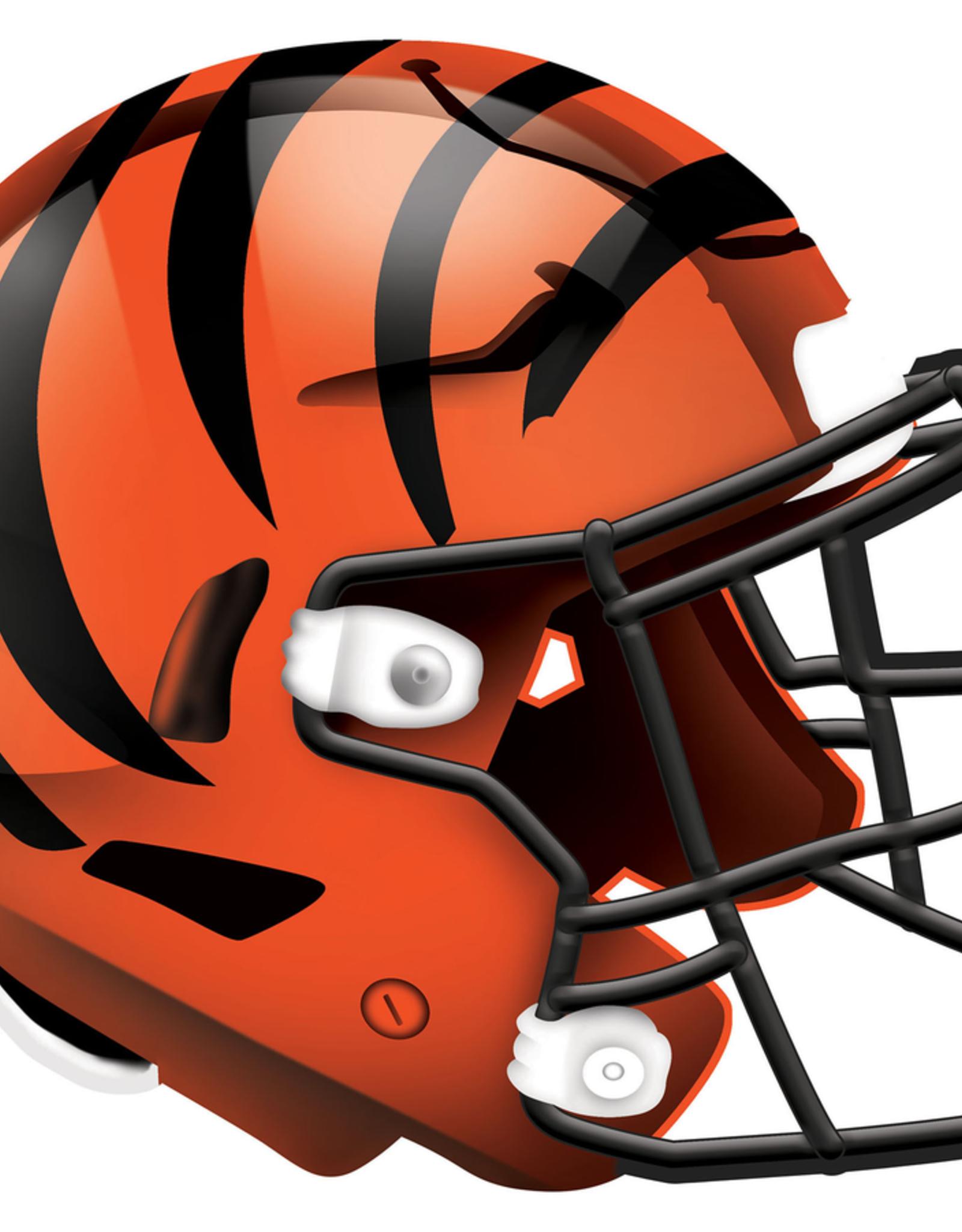 FAN CREATIONS Cincinnati Bengals 12in Wood Helmet Sign