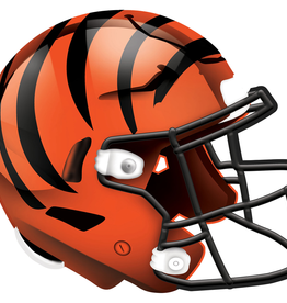 FAN CREATIONS Cincinnati Bengals 12in Wood Helmet Sign