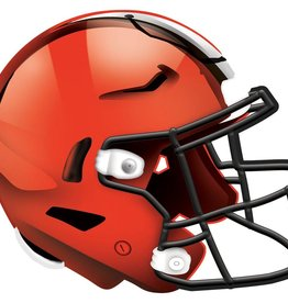 FAN CREATIONS Cleveland Browns 12in Wood Helmet Sign