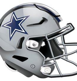 FAN CREATIONS Dallas Cowboys 12in Wood Helmet Sign