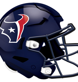 FAN CREATIONS Houston Texans 12in Wood Helmet Sign