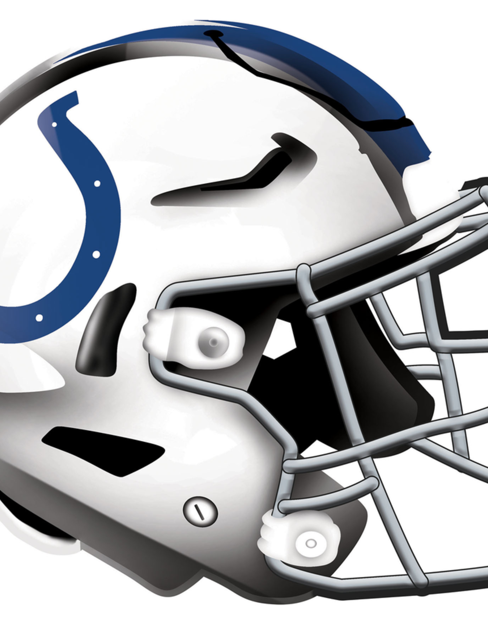 FAN CREATIONS Indianapolis Colts 12in Wood Helmet Sign