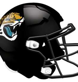 FAN CREATIONS Jacksonville Jaguars 12in Wood Helmet Sign