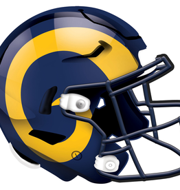 FAN CREATIONS Los Angeles Rams 12in Wood Helmet Sign