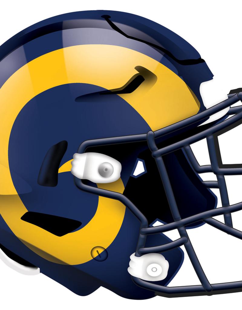 FAN CREATIONS Los Angeles Rams 12in Wood Helmet Sign