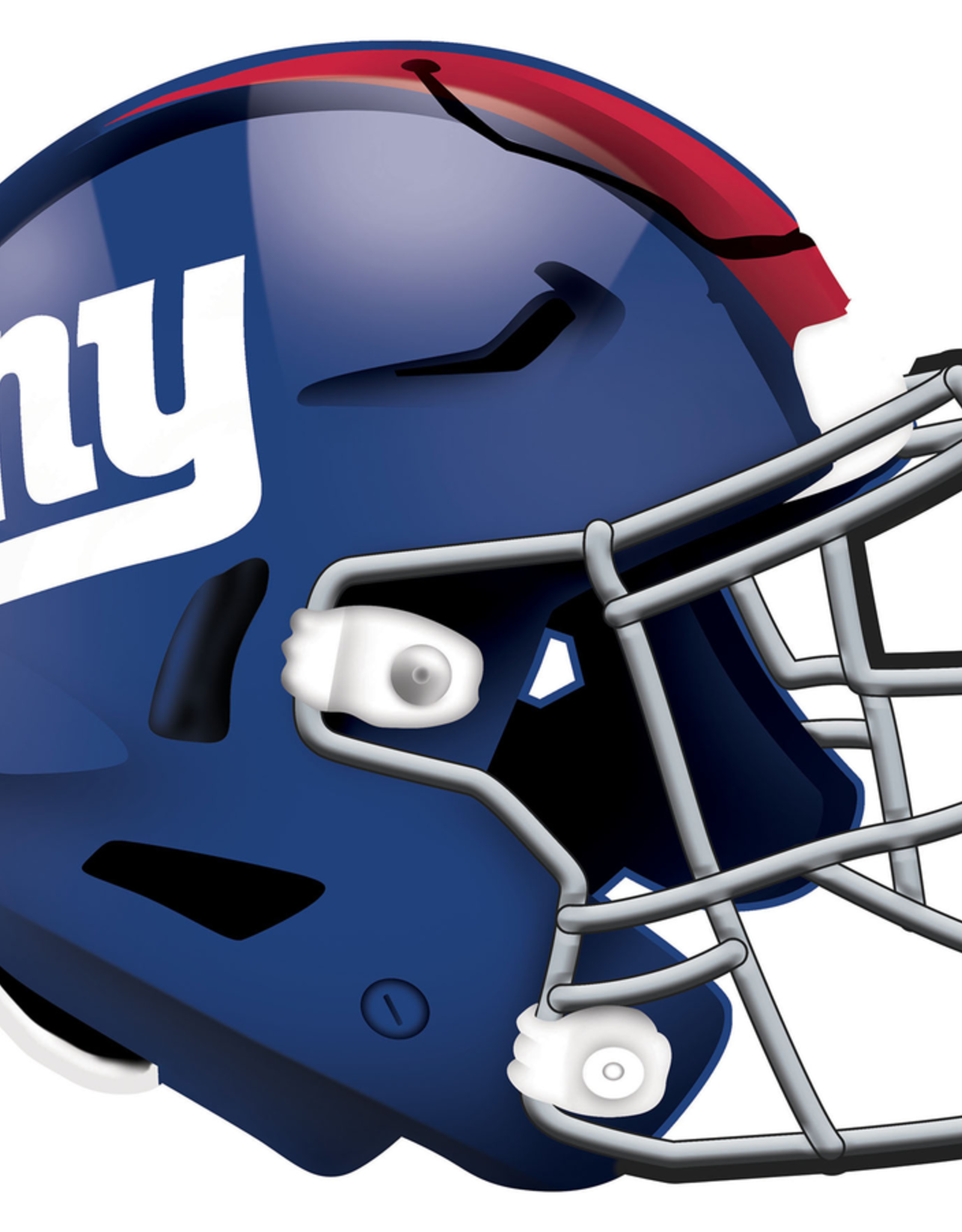 FAN CREATIONS New York Giants 12in Wood Helmet Sign