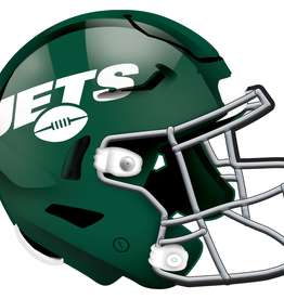 FAN CREATIONS New York Jets 12in Wood Helmet Sign