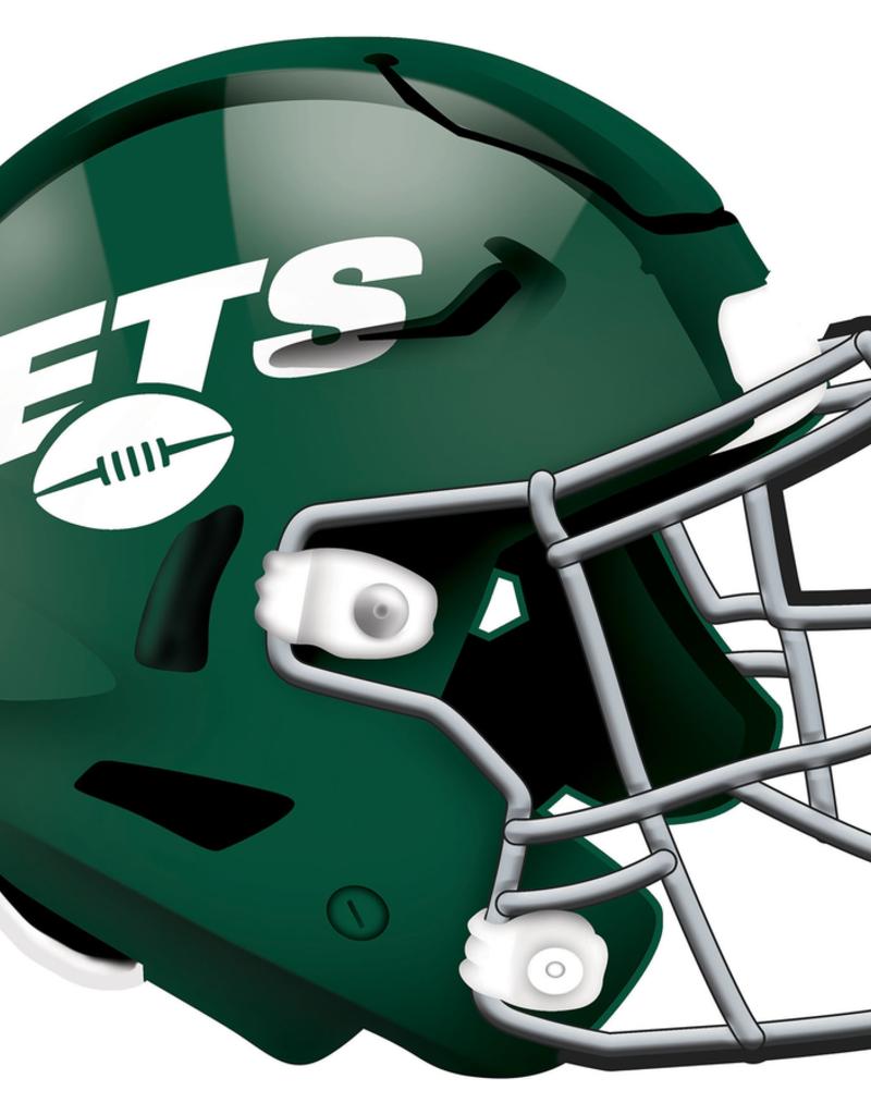 FAN CREATIONS New York Jets 12in Wood Helmet Sign
