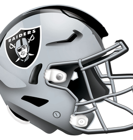 FAN CREATIONS Las Vegas Raiders 12in Wood Helmet Sign