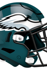 FAN CREATIONS Philadelphia Eagles 12in Wood Helmet Sign