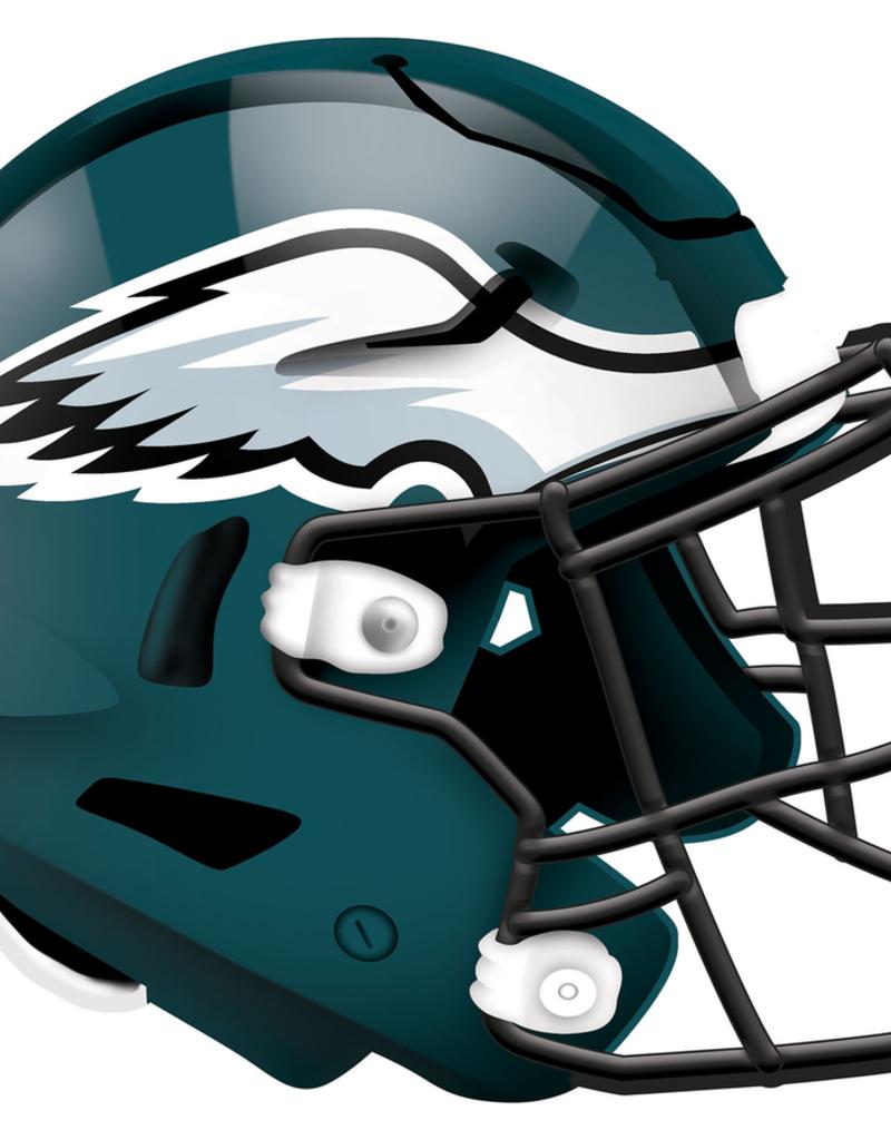 FAN CREATIONS Philadelphia Eagles 12in Wood Helmet Sign