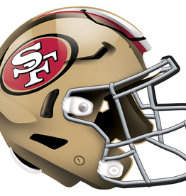 FAN CREATIONS San Francisco 49ers 12in Wood Helmet Sign