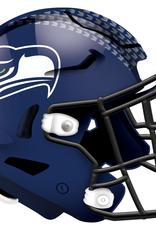 FAN CREATIONS Seattle Seahawks 12in Wood Helmet Sign