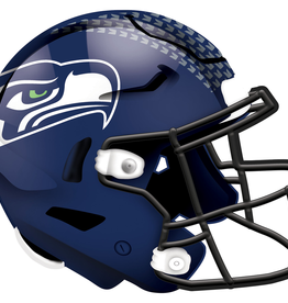 FAN CREATIONS Seattle Seahawks 12in Wood Helmet Sign