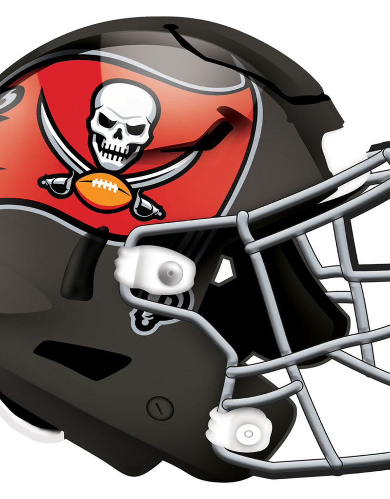 FAN CREATIONS Tampa Bay Buccaneers 12in Wood Helmet Sign