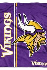 NORTHWEST Minnesota Vikings Restructure Royal Plush Raschel Throw