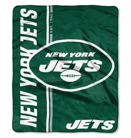 NORTHWEST New York Jets Restructure Royal Plush Raschel Throw