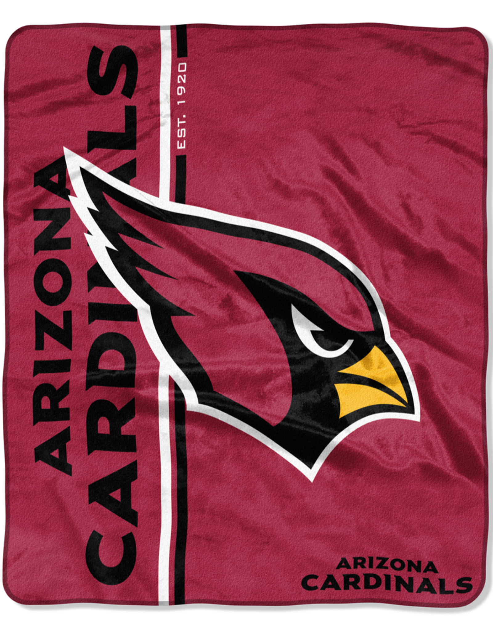 NORTHWEST Arizona Cardinals Restructure Royal Plush Raschel Throw