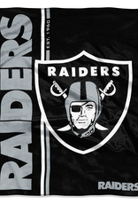 NORTHWEST Oakland Raiders Restructure Royal Plush Raschel Throw