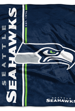 NORTHWEST Seattle Seahawks Restructure Royal Plush Raschel Throw