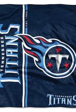 NORTHWEST Tennessee Titans Restructure Royal Plush Raschel Throw