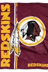 NORTHWEST Washington Redskins Restructure Royal Plush Raschel Throw