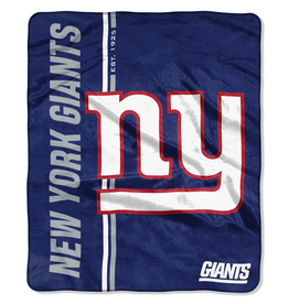 NORTHWEST New York Giants Restructure Royal Plush Raschel Throw