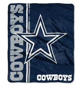 NORTHWEST Dallas Cowboys Restructure Royal Plush Raschel Throw