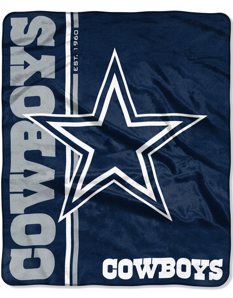 NORTHWEST Dallas Cowboys Restructure Royal Plush Raschel Throw