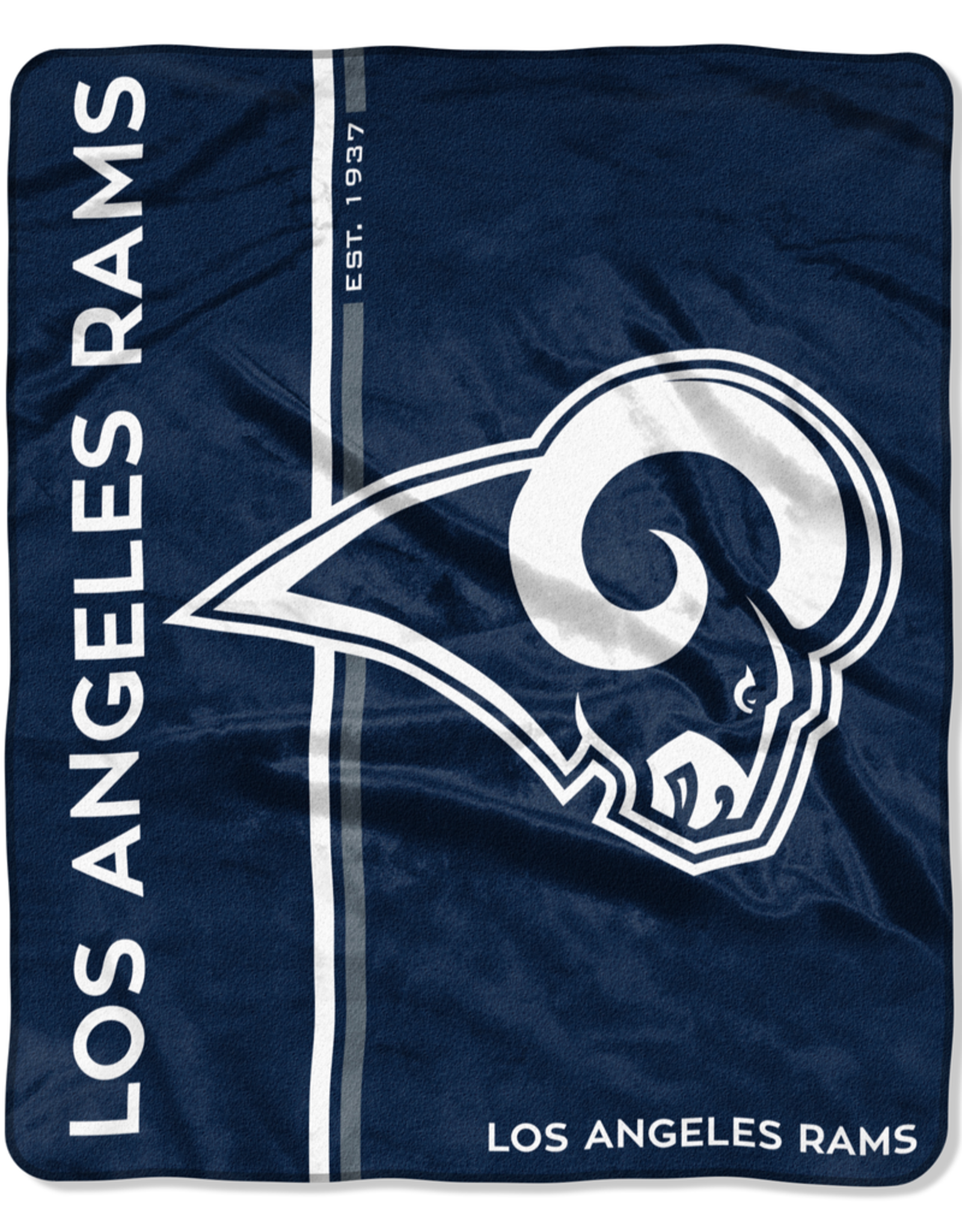 NORTHWEST Los Angeles Rams Restructure Royal Plush Raschel Throw