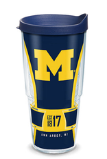 TERVIS Michigan Wolverines 24oz Tervis Spirit Wrap Tumbler