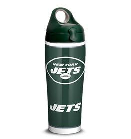 TERVIS New York Jets 24oz TERVIS Touchdown Stainless Steel Water Bottle