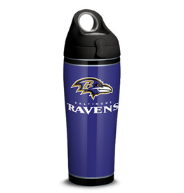 TERVIS Baltimore Ravens 24oz TERVIS Touchdown Stainless Steel Water Bottle