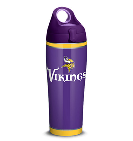 TERVIS Minnesota Vikings 24oz TERVIS Touchdown Stainless Steel Water Bottle