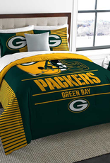 NORTHWEST Green Bay Packers Draft Full/Queen Comforter Set