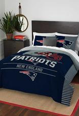 NORTHWEST New England Patriots Draft Full/Queen Comforter Set
